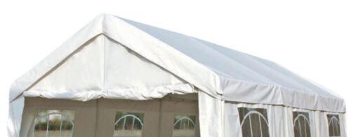 Ersatzdach Dachplane Zeltdach Pavillondach Dach Profizelt 3x6 Meter PE weiß