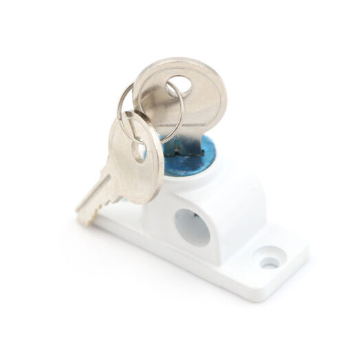 Lockable Window Security Cable Lock Door Restrictor Child Safety Stainless KeyAB