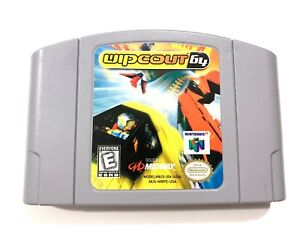 Wipeout-64-Nintendo-64-N64-Original-Game-Tested-Working-amp-Authentic