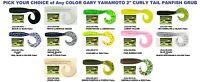 Gary Yamamoto Crappie Panfish 2 Inch Curly Tail Grub Soft Plastic Lure C2j 20 Pk