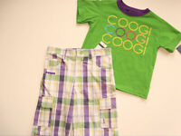 Boys Coogi Shirt Shorts Clothes 12m Set Outfit
