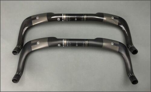 Carbon 3K Road TT tri Base Bullhorn Bar 40//42//44//46cm Triathlon Handlebar 31.8mm