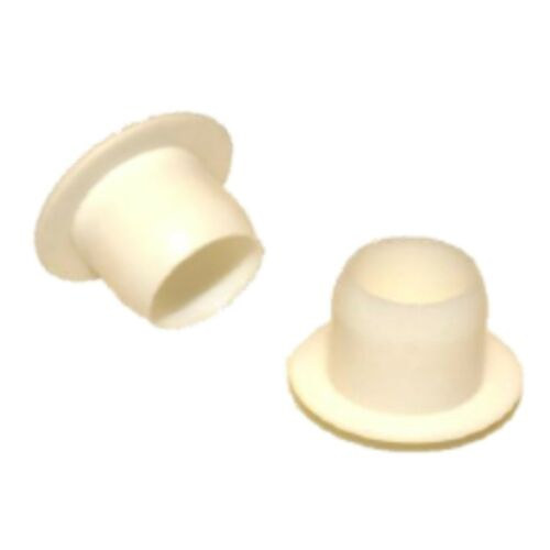 100 x 10mm Hole Decorative Finishing Plug *Value Pack* - White