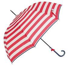 Schirm Regenschirm Stockschirm gestreift rot weiß Clayre en Eef