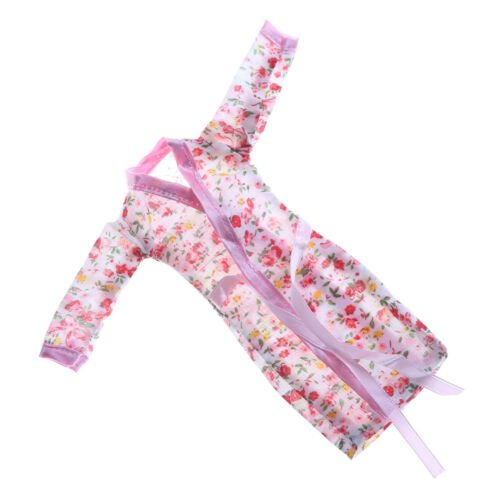 Handmade DollClothes Flower Printed Pajamas Sleepwear for  Doll Accessor P0HK