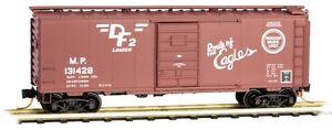 Missouri-Pacific-40-039-Standard-Boxcar-Micro-Trains-MTL-020-00-966-N-Scale