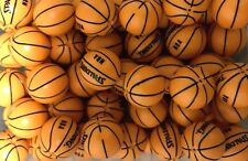 Lego 1 NBA Basketball Sports Basketball with 'SPALDING' and 'NBA' Pattern