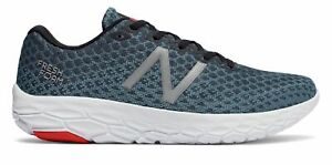 New-Balance-Men-039-s-Fresh-Foam-Beacon-Shoes-Blue-with-Red-amp-White