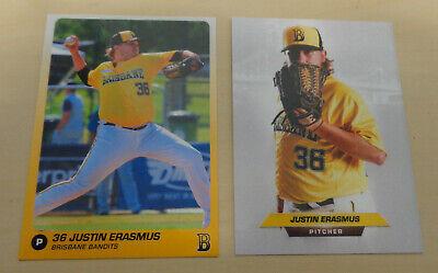2018 Justin Erasmus cards - Brisbane Bandits - ABL - Heidenheim ...