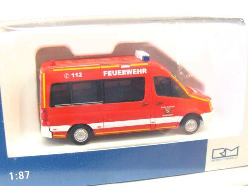KV4423 Rietze 1//87 53110 VW Crafter Bus Feuerwehr Altdorf OVP