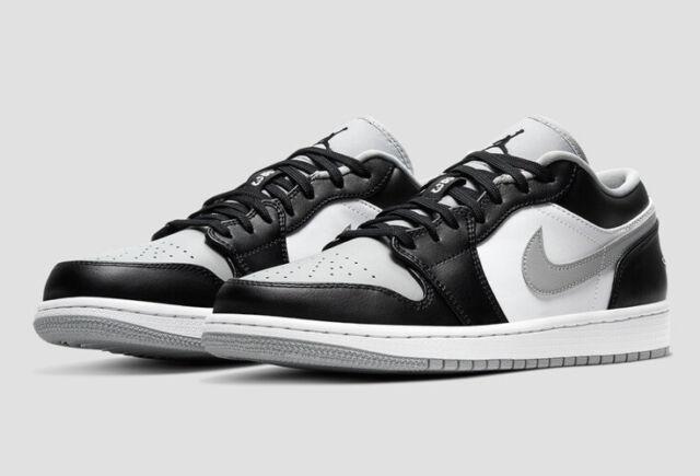 Nike Air Jordan 1 Low Shadow Light Smoke Grey US Men Size 9 553558-039