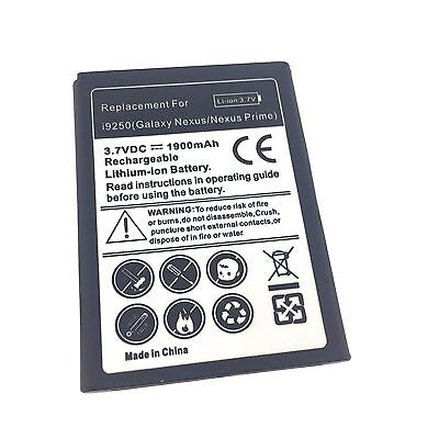NEW Samsung Galaxy Nexus Prime i9250 Replacement Battery 1900mAh