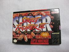 Super Street Figter Ⅱ 2 Super NIntendo Entertainment System SNES CIB