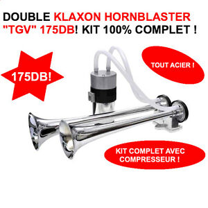 Serie Limitee! Double Corne De Brume 175db Qualite Marine Avec Compresseur K6e72cet-08002414-911831115