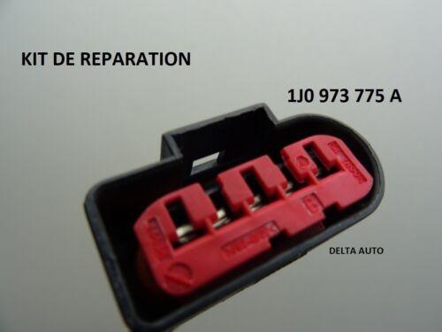 KIT REPARATION CONNECTEUR DEBIMETRE AUDI VW SEAT SKODA 1J0 973 775 A 1J0973775A
