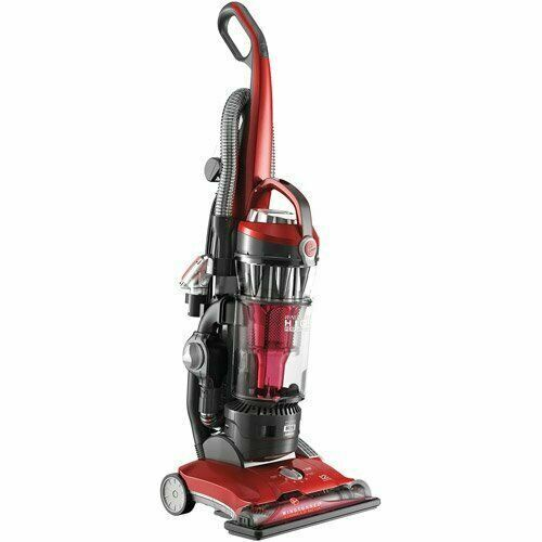 High Performance Upright Vacuum Cleaner with HEPA Media Filter, Red, Multi-floor