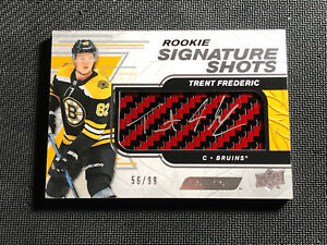 2019-20-ENGRAINED-TRENT-FREDERIC-ROOKIE-SIGNATURE-SHOTS-STICK-AUTO-RED-ed-56-99