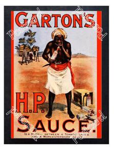 Historic-Garton-039-s-HP-Sauce-1910-Advertising-Postcard