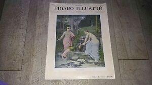 revue-figaro-illustre-1899-special-puvis-de-chavannes-N-107-art-illustre