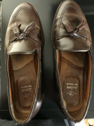 Alden Cigar Brown Tassel Loafer Shell Cordovan 366