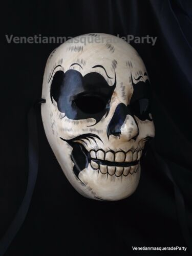 Horror Skull Halloween Costume Dress up Midnight fun party Devil Scary Mask