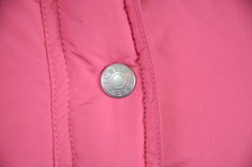 Udendørs Puffer Casual J Cute Kvinder Varm Pink Snap Størrelse Lille Button crew Vest qEZPnEwvR