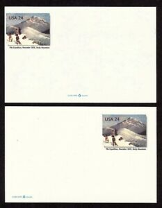 "UX449 Incredible Miscut Error / EFO ""Pike's Peak"" Post Card"