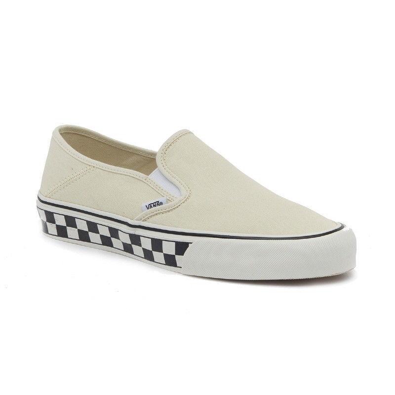 VANS Clásico Tablero De Damas Slip-on SF Bajo Hombres Zapatos blancoo VN 0 A 3 MVDR 41 Nuevo