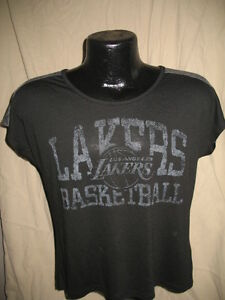 Image is loading NBA-Los-Angeles-Lakers-Exclusive-Collection-Tee-Shirt- 3fb82f3495