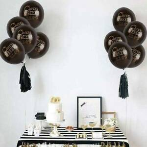10Pcs-Latex-Balloon-Cheers-amp-Beers-To-30-40-50-Years-Birthday-Party-Decor-Happy