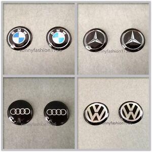 2pc-Car-Remote-Flip-Key-Fob-Case-Stereo-Logo-Badge-Emblem-Phone-14mm-Sticker