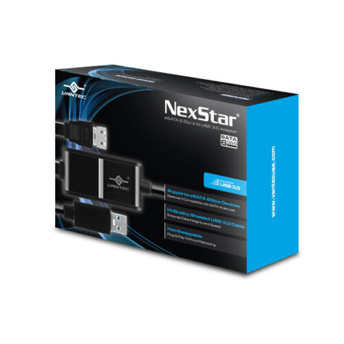 Vantec NexStar eSATA 6Gb//s to USB 3.0 Adapter