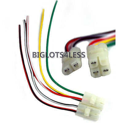 CDI CABLE WIRE HARNESS PLUG GY6 4 STROKE 50CC 150CC SCOOTER MOPED ATV GO KART