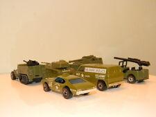 1976 Military Machines Gift Set! NM! HTF Olds 442  Redline HotWheels Cars