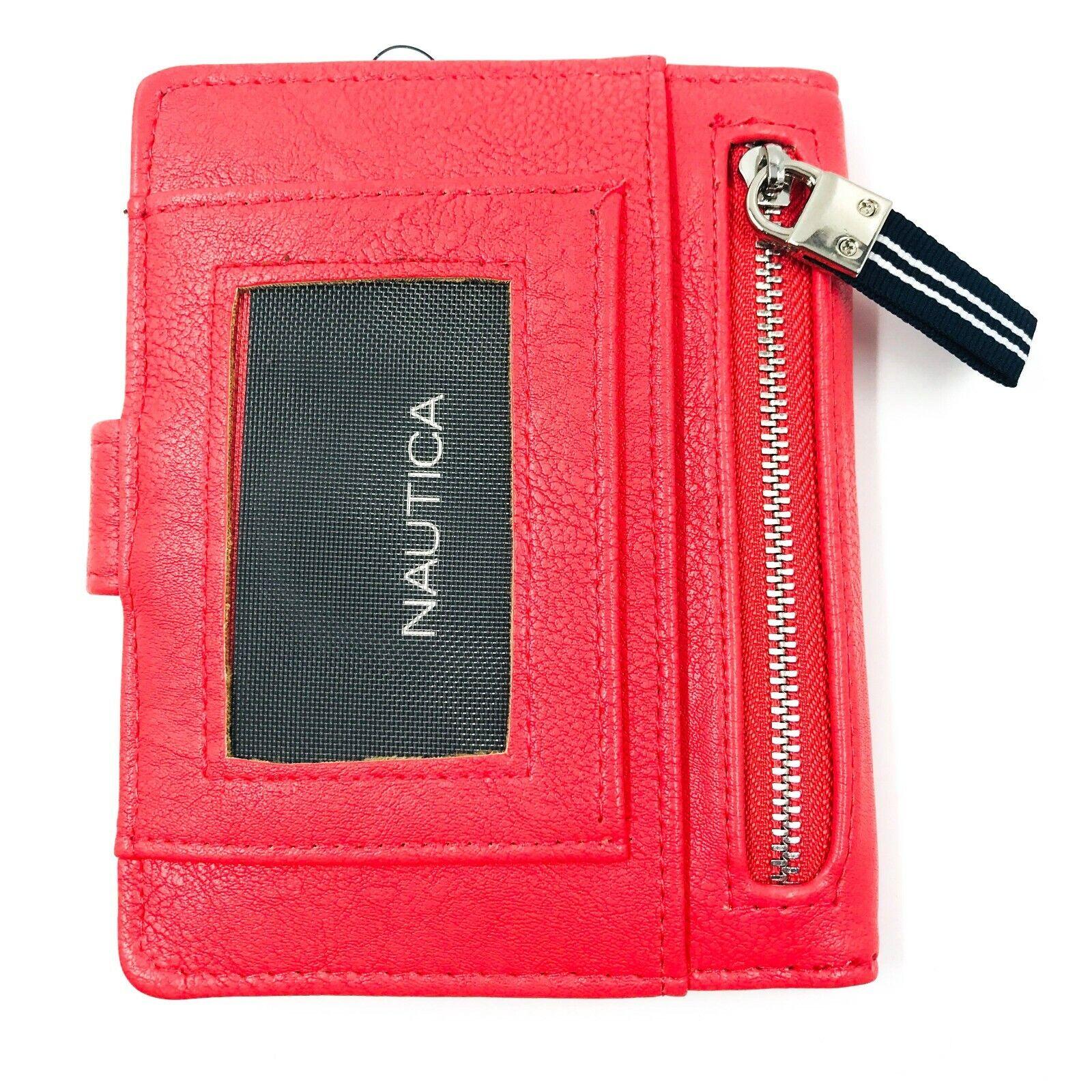 Nautica Pink Eco Leather Ladies Wallet