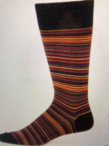 w//tax $39 one size Marcoliani Poncho Striped Dress Socks