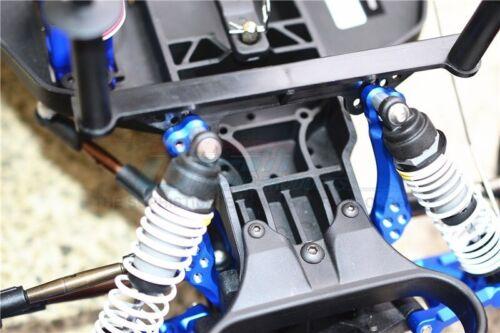 GPM Green Aluminum Front Shock Tower Traxxas 2WD Stampede Rustler Slash Bandit