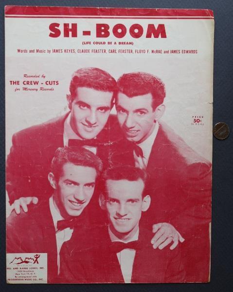 1954 Mercury Records The Crew-Cuts Sh-Boom-Life Could Be A Dream ...