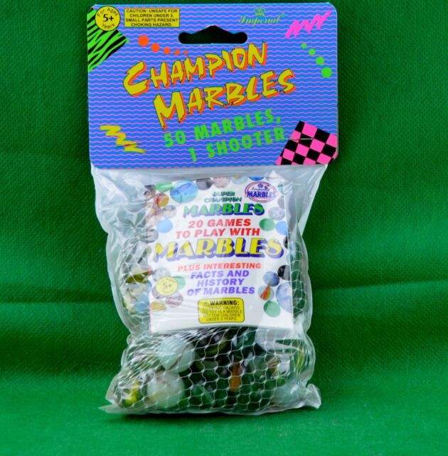 Imperial Toy 08565 Marbles In A Bag Assorted Colors 50 Count