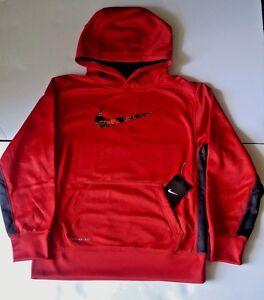 Boy's 8 20 Nike KO 2.0 Pullover Training Hoodie Medium new