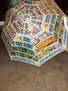 Newspaper Comic Strips Garfield Nancy Dennis Chicago Sun Times Umbrella Ebay