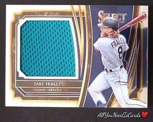 Jake Fraley 2020 Panini Select Baseball Rookie Jersey Swatch Seattle Mariners RC