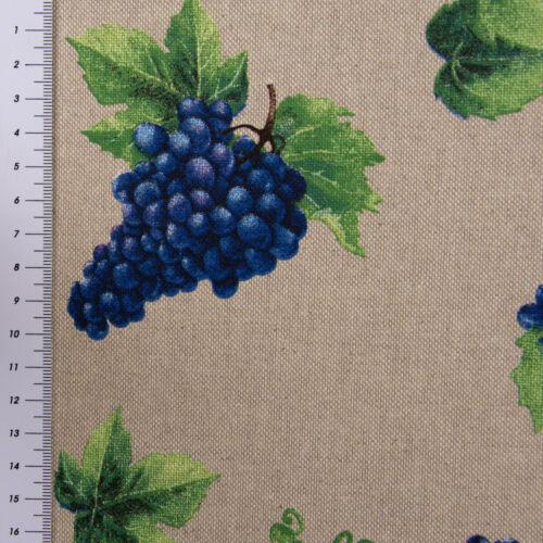 De Table Coureur Raisins Vigne Nature Bleu Vert 40x160cm Belle Vie