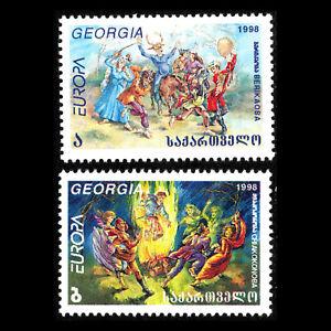 à Condition De Georgia 1998-europa Timbres-fêtes Et Célébrations Nationales-sc 199/0 Neuf Sans Charnière Moins Cher