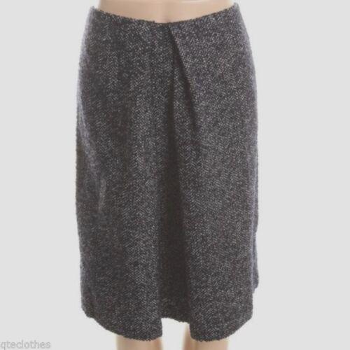 Jones York Qco Tweed New foderato line pieghe Black gonna 14 129 Blend A Wool a wrTxwq