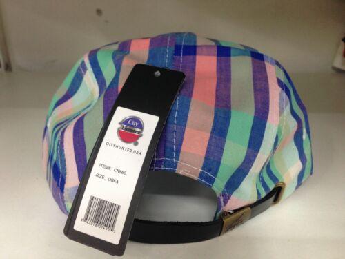 5 /& 7 Pannello Snapback Coperchi vintage Cinturino Spalle Piatto Picco Baseball Cappelli retrò