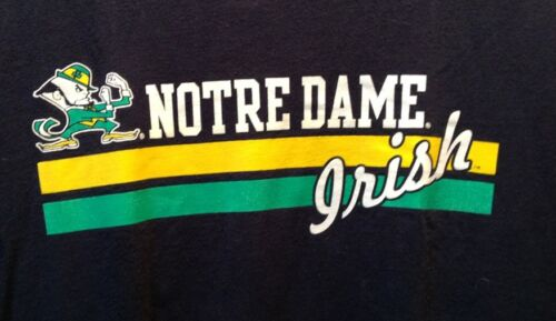Vintage NOTRE DAME Fightin' Irish T shirt Football Large