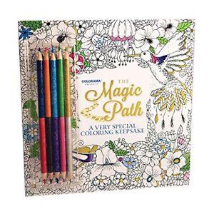 Image Is Loading Colorama Magic Path Coloring Book Create Beautiful Pencil