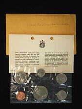 1969 Canada Uncirculated Voyageur Dollar Mint Set - 6 Coin