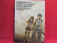 STAR OCEAN Till the End of Time 'ETERNAL MATERIALS' illustration art book w/DVD